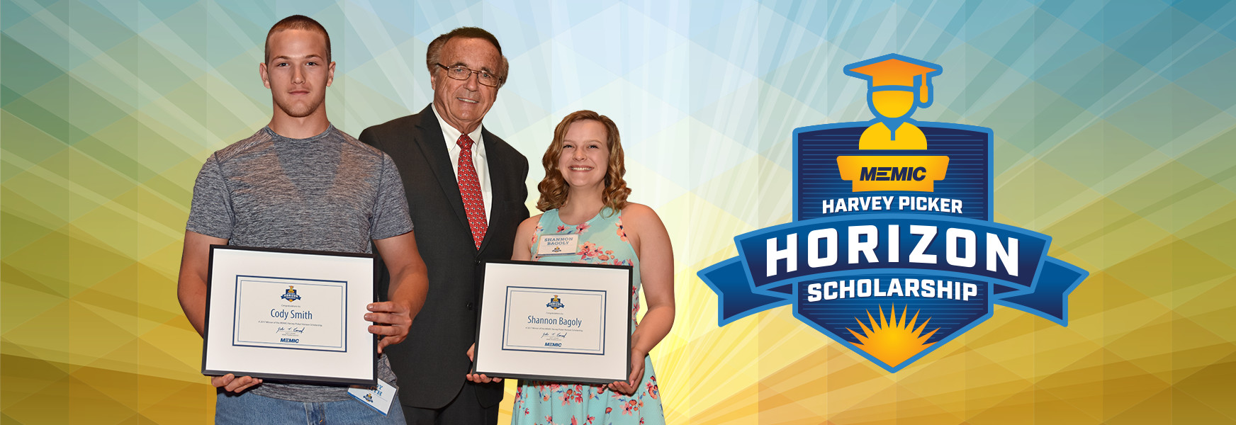 2017 MEMIC Harvey Picker Scholarship award recipients