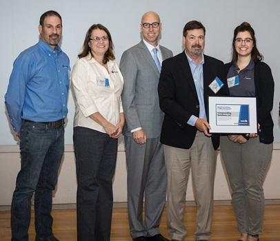 Compound Solutions honored with safety award at MEMIC