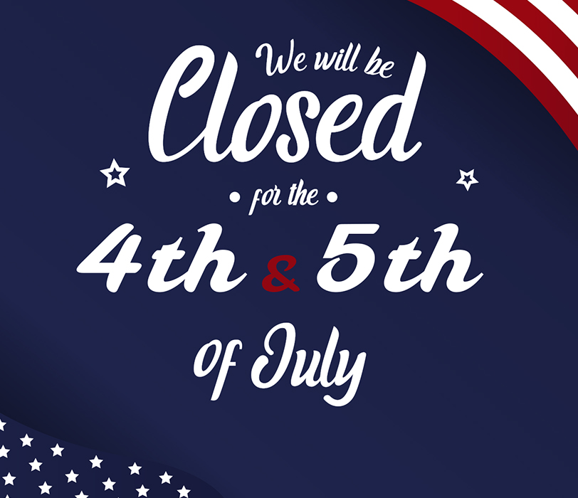 MEMIC will be closed on July 4th and 5th in observance of Independence Day
