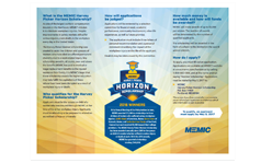 Horizon Scholarship brochure cover