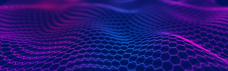 Purple and blue abstract graphic design