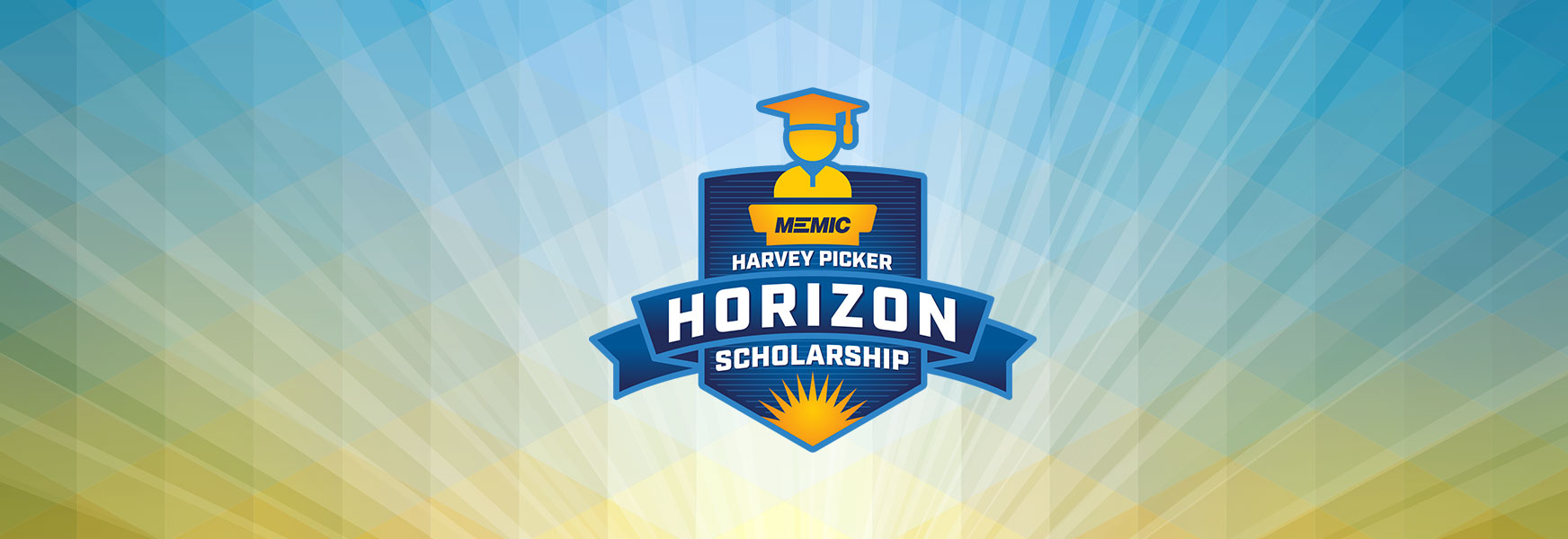 Horizon scholarship logo and graphic header