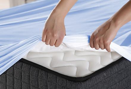 Flipping mattress