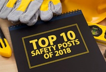 "Notebook reading ""Top Safety Posts"""