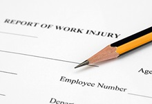 Report of Work Injury Form