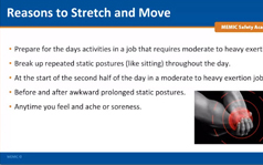 Reasons to Stretch and Move Webinar Screenshot