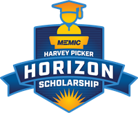 MEMIC's Harvey Picker Horizon Scholarship logo