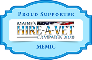 MEMIC is a proud supporter of the Hire-A-Vet 2020 Campaign