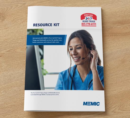 MEMIC 24/7 Injury Triage Resource Kit