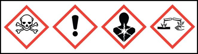 OSHA Health Hazards Picotgrams