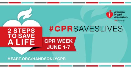 #CPRSavesLives