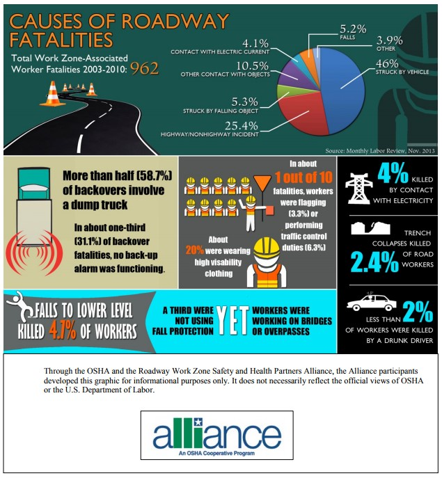 Causes of Roadway Fatalities