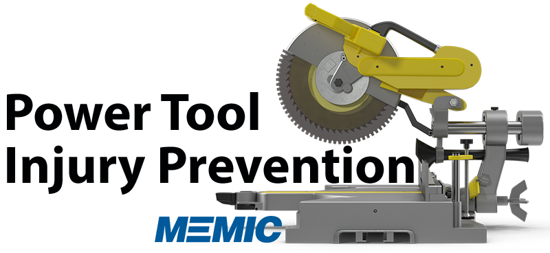 Power tool injury prevention.