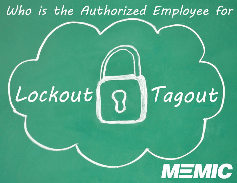 Who is the authorized employee for lockout/tagout?
