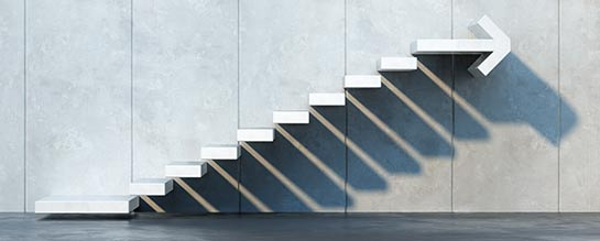 Stair steps to improvement